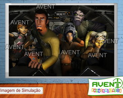 Banner em lona 1x1,5 Star Wars Rebels(3)