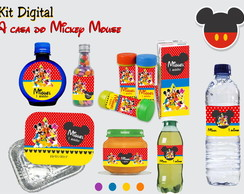 Kit Digital A casa Do Mickey Mouse