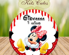 Arte Digital Latinha Minnie