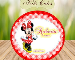 Arte Digital Oval Minnie