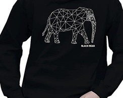 AGASALHO MOLETOM MAS-BLACK BEAR-ELEPHANT