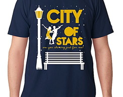 CAMISETA MASCULINA - CITY OF STAR