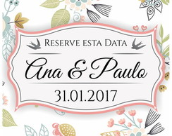 Reserve esta data - Digital
