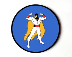 Quadro redondo Space Ghost