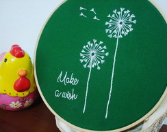 Bastidor Bordado Make a Wish (20cm)