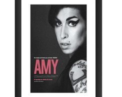 Quadro Amy Winehouse Jazz Pop Musica