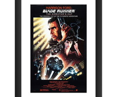 Quadro Filme Blade Runner Cult Retro Art
