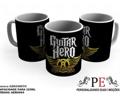 Caneca Aerosmith Guitar Hero