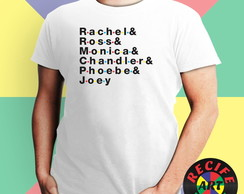 Camisa - Friends Names