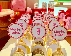 Kit Forminha Festa Peppa