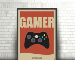 Poster Gamer - DIGITAL