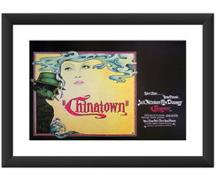 Quadro Filme Chinatown Retro Cult Arte
