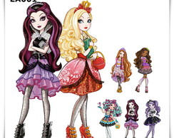 Displays Festa Infantil Ever After High