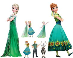 Displays Festa Infantil Frozen Fever