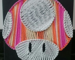 String Art Cogumelo