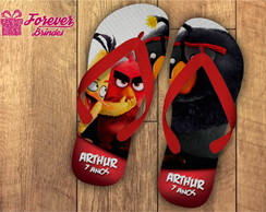 CHINELO PERSONALIZADO-ANGRY BIRDS