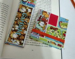 KIT Bloco Post it e Marcador Garfield