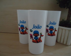 Copo Long Drink Pocoyo