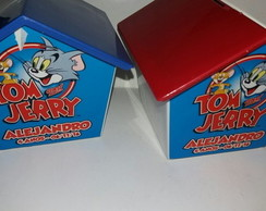 Casinha Cofre Tom e Jerry