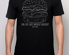 CAMISETA MASCULINA - BLACK BEAR - BURGER