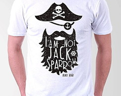 CAMISETA MASCULINA - BLACK BEAR - PIRATA