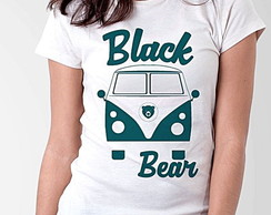 BABY LOOK - BLACK BEAR - KOMBI