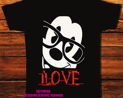 camiseta mickey love