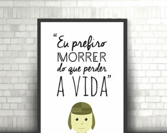 Poster Chaves ( Frases ) - DIGITAL