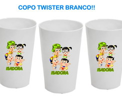 Copo Twister Branco Chaves