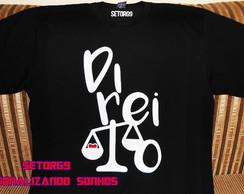 Camiseta Direito  2eceda7416b71