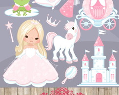 Kit Digital Cliparts Princesas