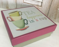 Tea Happiness - Caixa de Chá