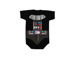 Body OU Camiseta Darth Vader Roupinha