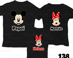 kit 3 camisetas minnie +SEDEX 10 REF00