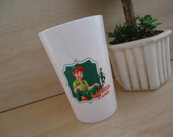 Copo Plastico Twister 480ml Peter Pan