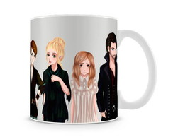 Caneca Once Upon a Time Neverland Anime