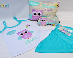 Kit festa do Pijama + Pijama Baby Doll