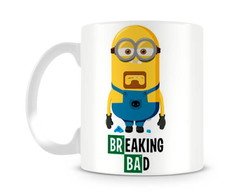 Caneca Minions Breaking Bad