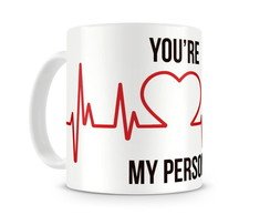 Caneca Greys Anatomy You are my person