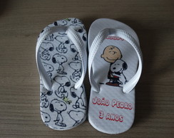 Chinelo Snoopy