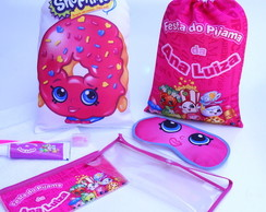 FESTA DO PIJAMA - KIT COMPLETO SHOPKINS