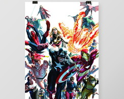 Pôster All Star Marvel