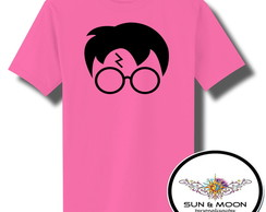 Camiseta rosa harry potter model 1