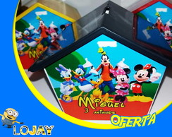 Casinha Cofre - Turma do Mickey 2