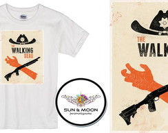 Camiseta branca the walking dead -021