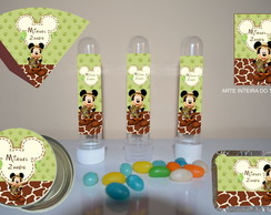 Kit Personalizado Mickey Safari