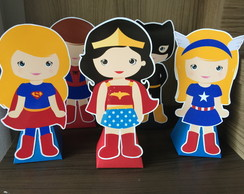 Display de mesa - Super-Heroinas