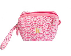 Mini Clutch Zíper Rosa