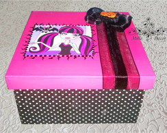 Caixa de MDF Monster High