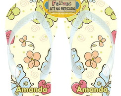 Chinelo Personalizado Butterfly